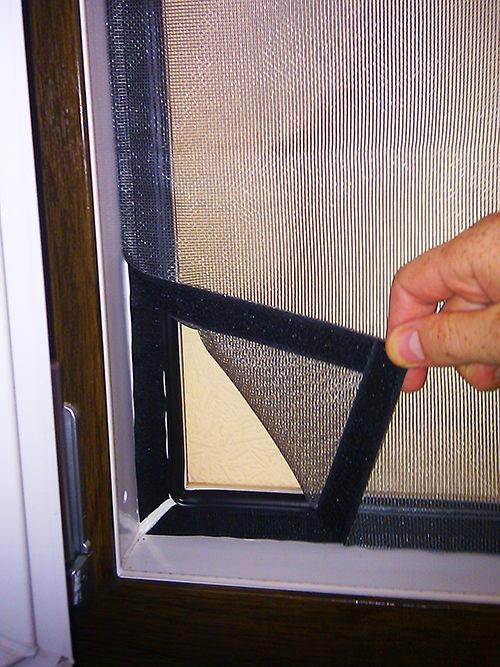 Антимоскитная сетка для пластиковых окон своими руками